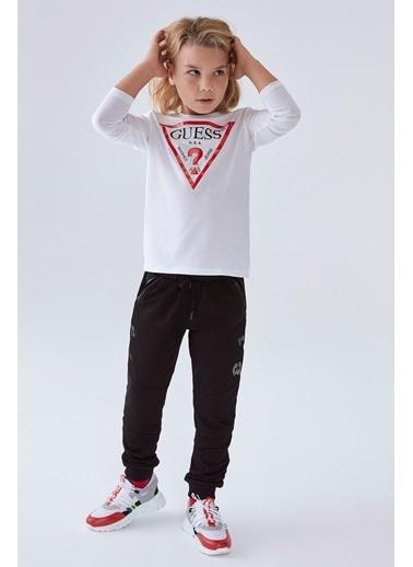 Guess Erkek Çocuk Beyaz T-Shirt Beyaz